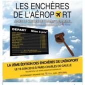 Enchères de l'aéroport CDG Paris 2012