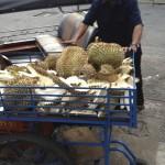 Durian dans la rue